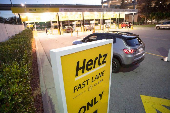 Fallimento Hertz, 400 Milioni per comprare nuove Auto