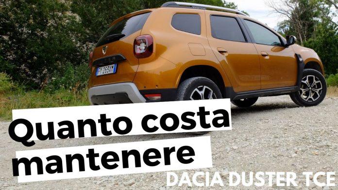 Quanto costa acquistare e mantenere Dacia Duster 1.0 TCe [VIDEO]