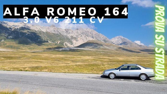 Prova su strada della Alfa Romeo 164 Super 3.0 V6 211 CV. Ecco com'è andata con la berlina executive che impensieriva le tedesche