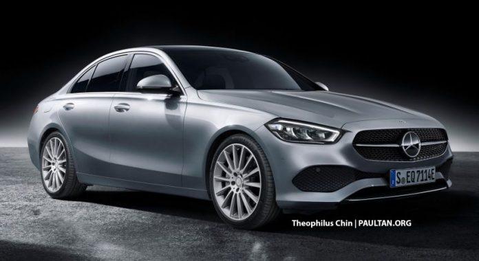 Nuova Mercedes-Benz Classe C 2021, il Rendering della prossima Generazione