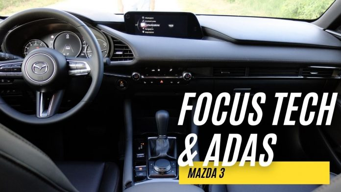 Mazda 3 2021, FOCUS TECH, Infotainment, ADAS [VIDEO]