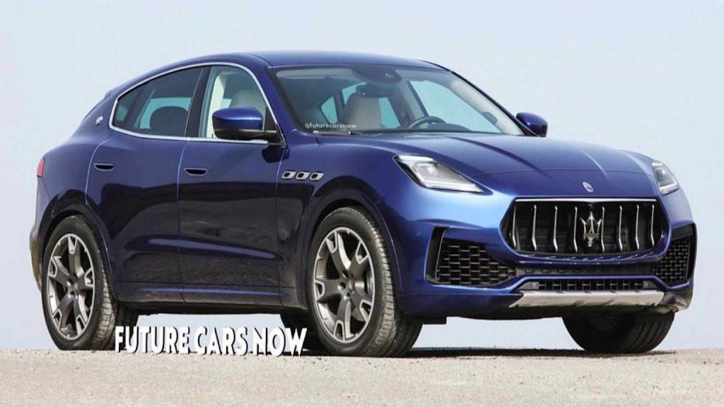 Nuovo Maserati Grecale 2021, il Rendering del SUV compatto