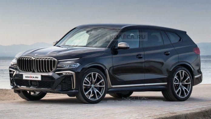 Nuova BMW X8 2021, Rendering del SUV in Anteprima