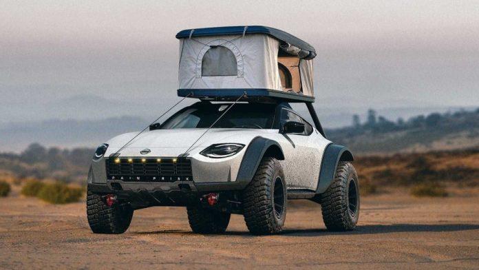 Nissan Proto Z 2021, il Rendering della versione estrema Off-Road