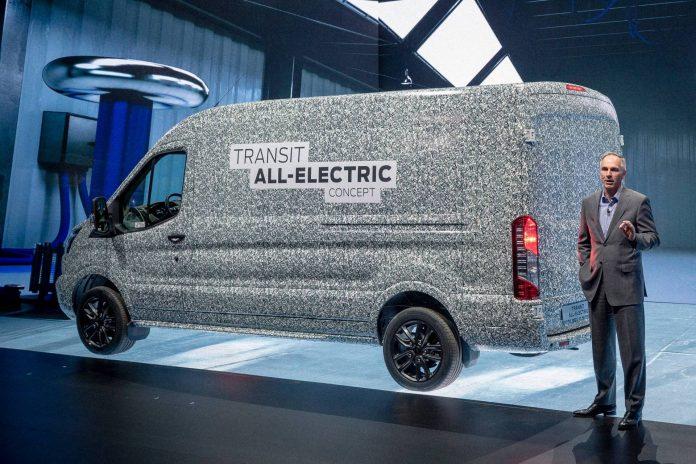 Nuovo Ford Transit 2021, ecco quando arriva la versione Elettrica