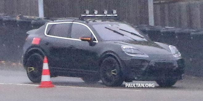 Nuova Porsche Macan 2022, le foto Spia della Versione Elettrica