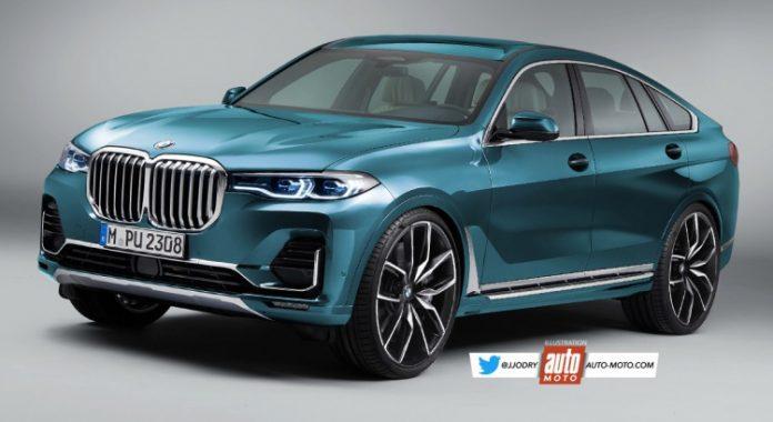 Nuova BMW X8 2021, il Rendering del SUV coupé da 7 Posti