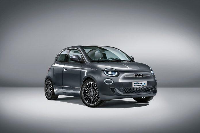 Nuova Fiat 500 Elettrica 2021, il Rendering della Versione 5 porte