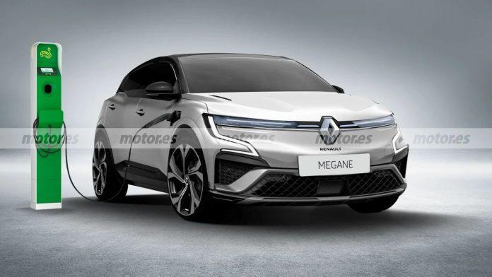 Nuova Renault Megane 2022, il Rendering del Crossover elettrico