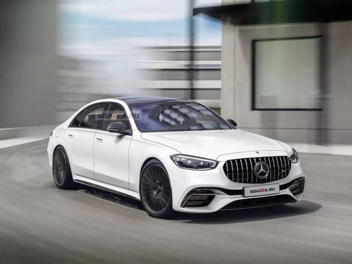 Nuova Mercedes-Benz Classe S 2021, i Rendering della versione AMG
