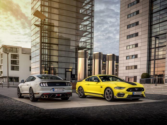 Nuova Ford Mustang Mach 1 2021, 460 CV con il cambio manuale