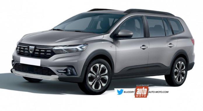 Nuova Dacia Lodgy 2021, Anticipazioni e Rendering della 7 Posti