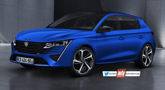 Nuova Peugeot 308 2021, Rendering e Ultime Anticipazioni