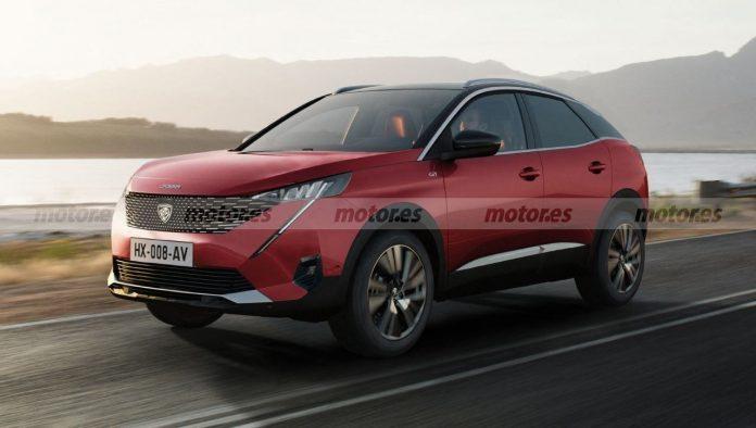 Nuovo Peugeot 3008 2022, la prossima generazione in Rendering