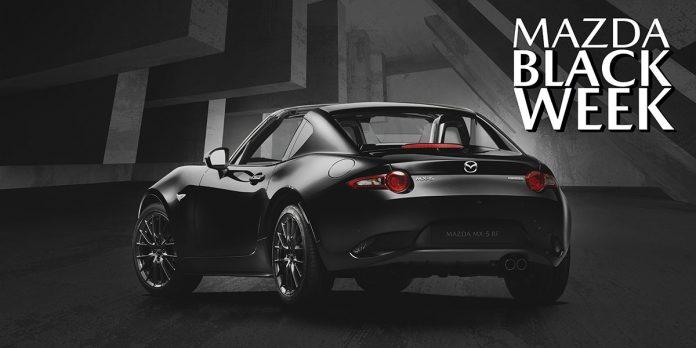 Mazda Black Week: una settimana di Sconti e Promozioni