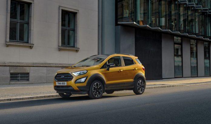 Nuova Ford Ecosport 2021, ecco la Versione Active