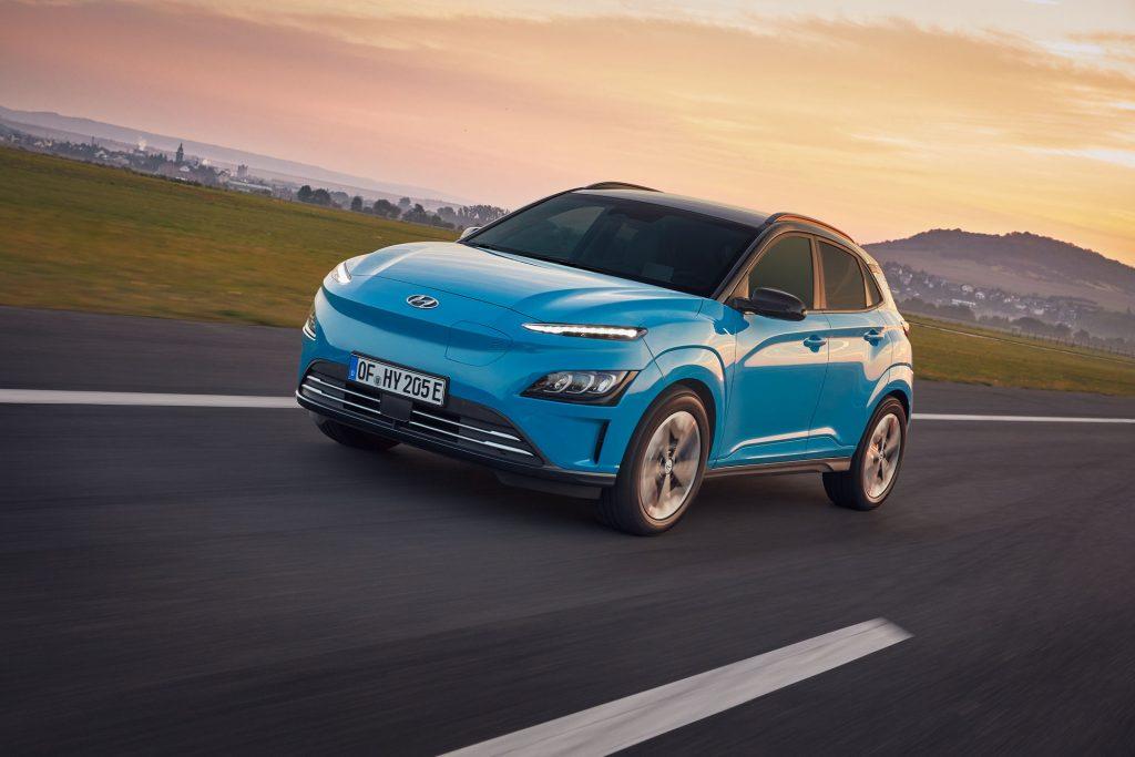 Nuova Hyundai Kona Elettrica 2021, Foto e Dati Tecnici del Restyling