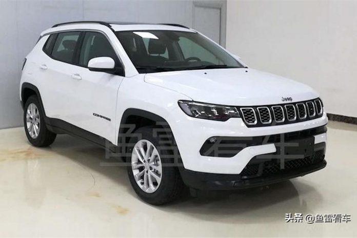Nuova Jeep Compass 2021, dalla Cina il Restyling in Anteprima