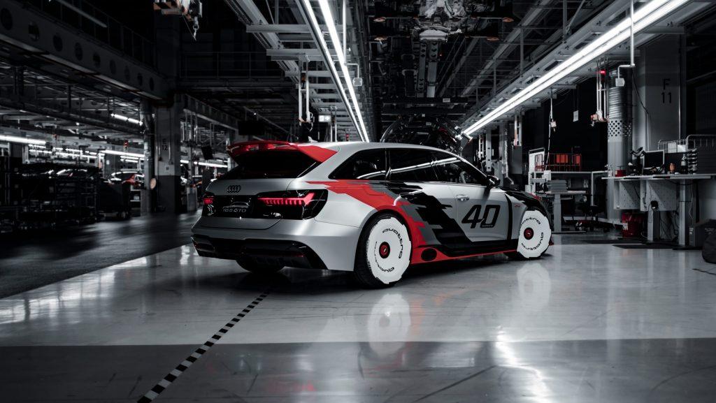 Nuova Audi RS6 Avant GTO Concept 2021, ispirata alla 90 ...