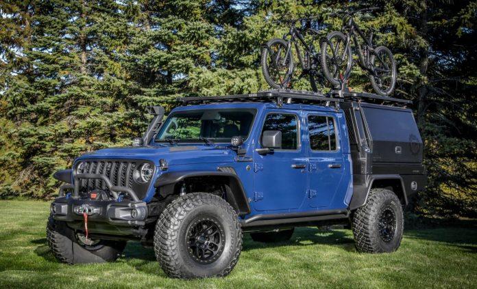Jeep Gladiator Top Dog 2021, il Concept del Pickup Estremo