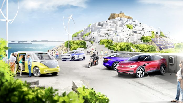 Volkswagen Group si compra un'Isola in Grecia