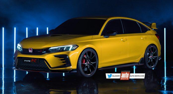Nuova Honda Civic Type R 2021, Rendering e Dati tecnici in Anteprima