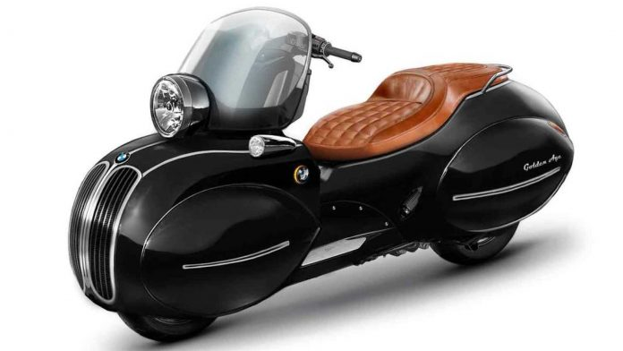 Nmoto trasforma lo Scooter BMW in un'opera d'arte