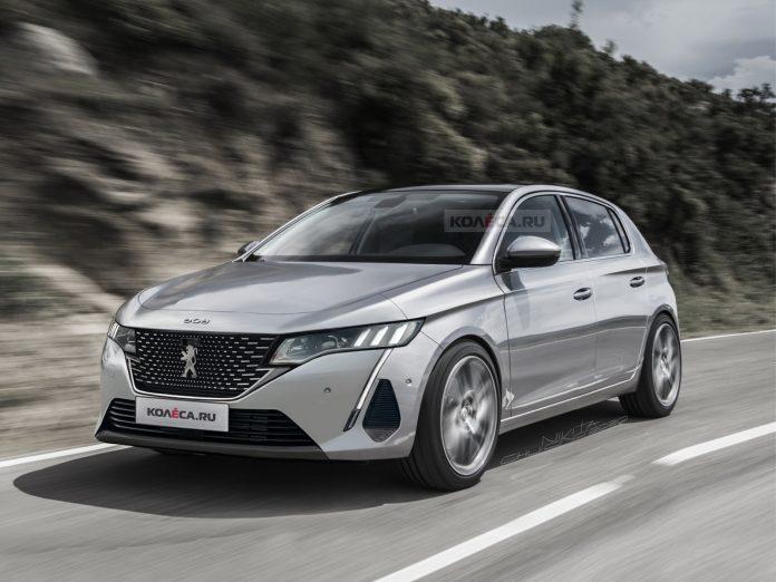 Nuova Peugeot 308 2021, Anticipazioni e nuovi Rendering