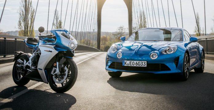 Alpine e MV Augusta insieme per la Superveloce