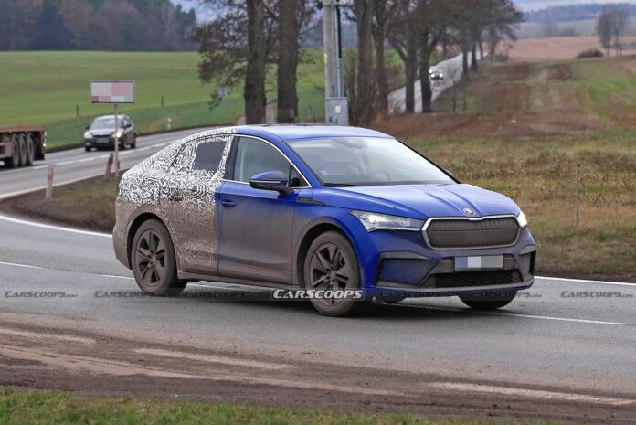 Nuova Skoda Enyaq iV 2022, la Versione coupé in Anteprima