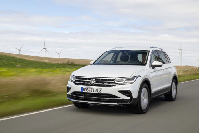Nuova Volkswagen Tiguan 2022, arriva la eHybrid