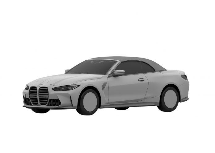 Nuova BMW M4 Cabrio 2021, le foto senza veli in Anteprima
