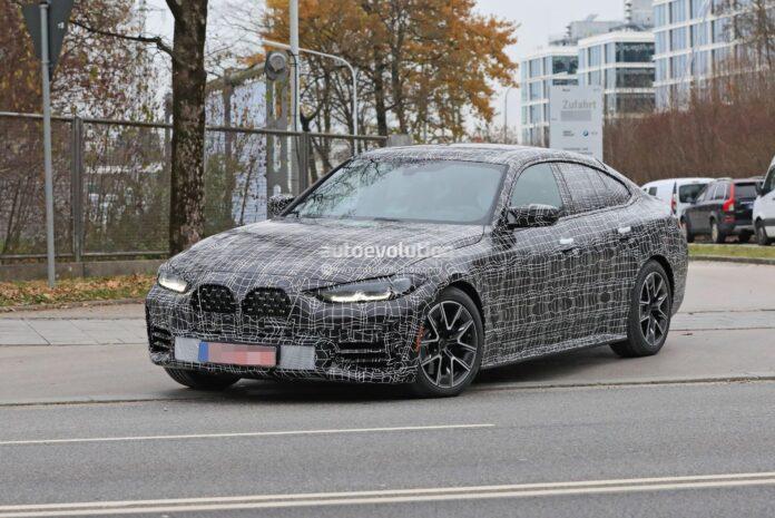 Nuova BMW Serie 4 Grand Coupe 2022, Foto e Dati Tecnici