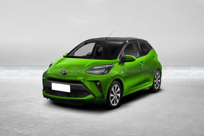 Nuova Toyota Aygo 2022, Rendering e Anticipazioni