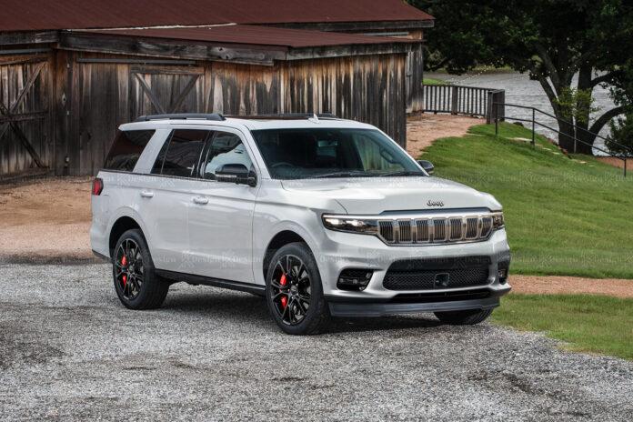 Nuova Jeep Grand Cherokee 2022, Anticipazioni e Rendering