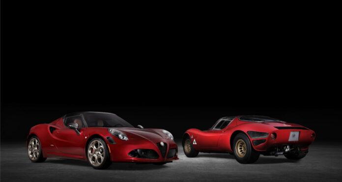 Alfa Romeo 4C Spider, addio agli Usa con la 33 Stradale Tributo