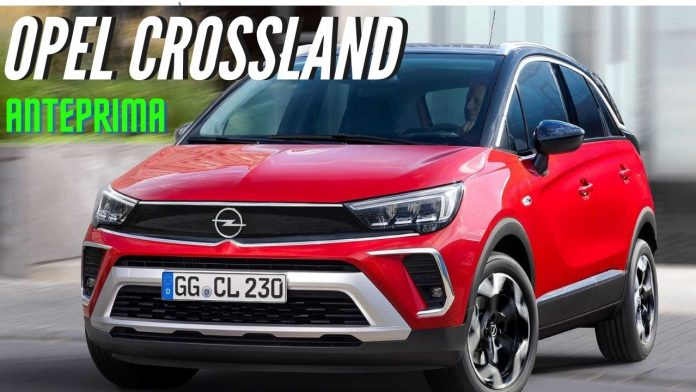 Nuova Opel Crossland 2021, i Dati Tecnici del Restyling [VIDEO]