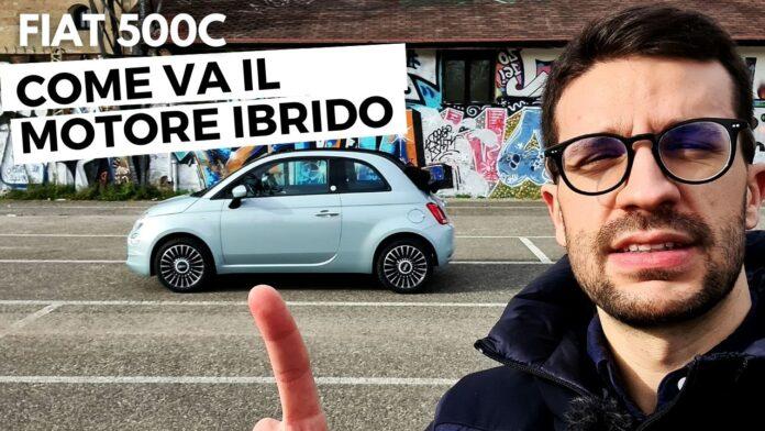 Fiat 500C Hybrid 2021, FOCUS sul MOTORE IBRIDO [VIDEO]