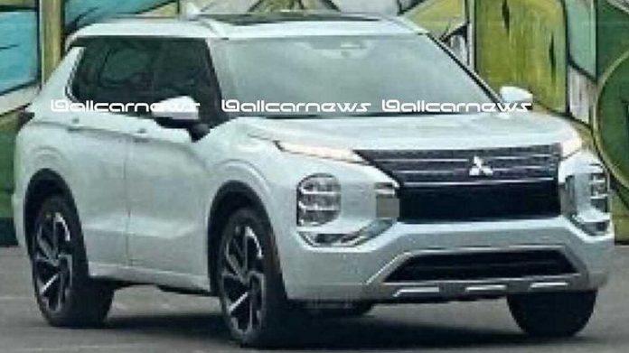Nuovo Mitsubishi Outlander 2022, il Design definitivo senza veli
