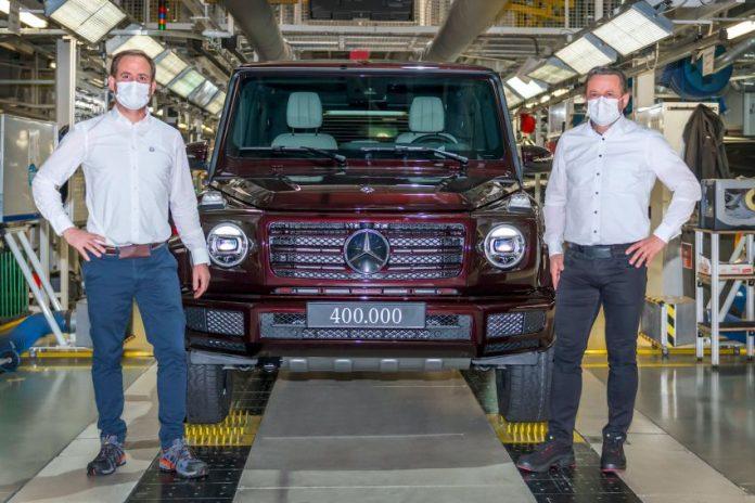 Mercedes-Benz Classe G, 400.000 Esemplari prodotti a Graz