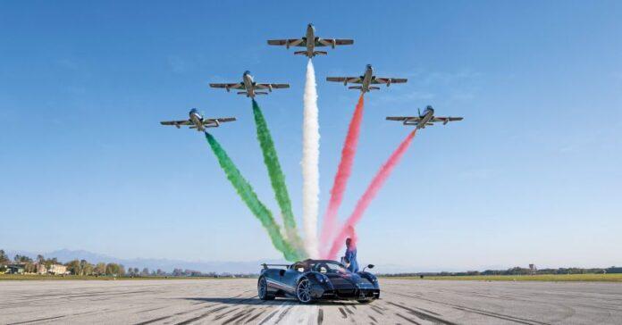 Pagani Huayra Tricolore, 840 CV di Italia allo stato puro