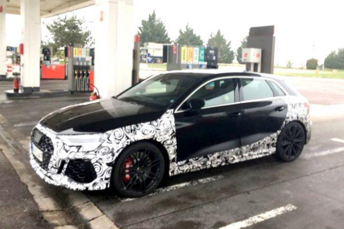 Nuova Audi RS3 2021, le foto Spia in Anteprima