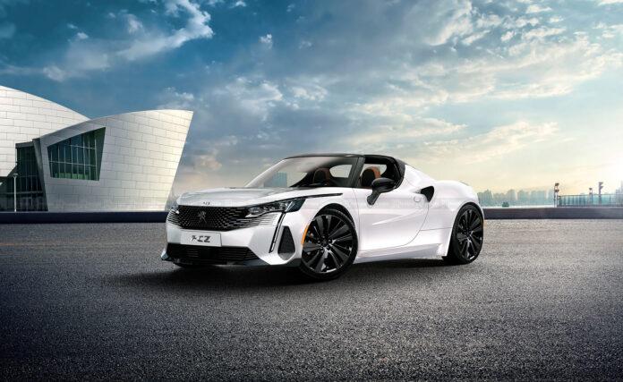 Nuova Peugeot RCZ 2022,il Rendering del ritorno con FCA