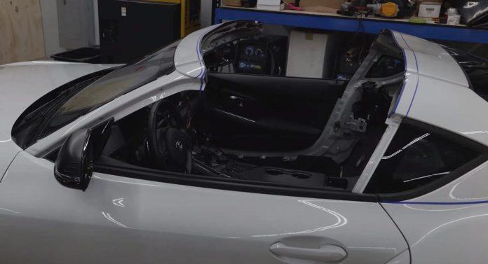 Nuova Toyota Supra Cabrio 2022, il Teaser in Anteprima [VIDEO]