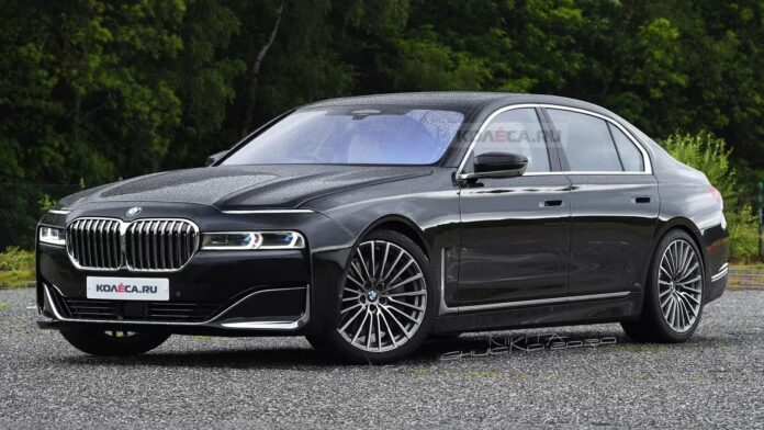 Nuova BMW Serie 7 2022, il Restyling in Anteprima Rendering