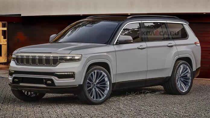 Nuova Jeep Grand Cherokee 2022, Rendering e Anteprima