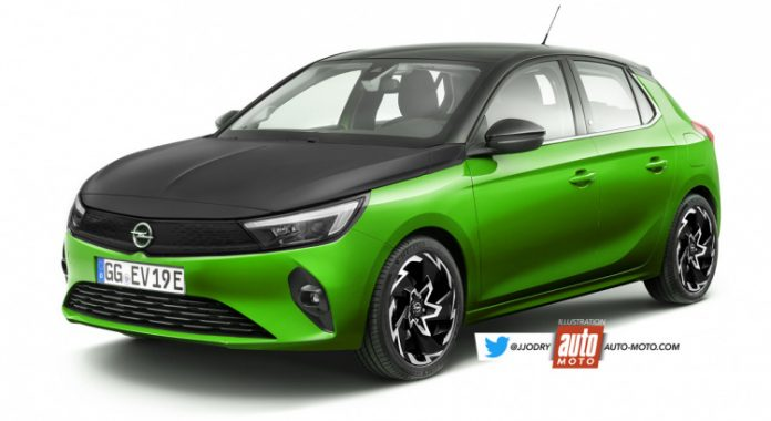 Nuova Opel Corsa 2022, il Restyling in Anteprima Rendering