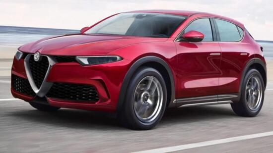 Nuova Alfa Romeo Brennero 2022, il Rendering del B-SUV