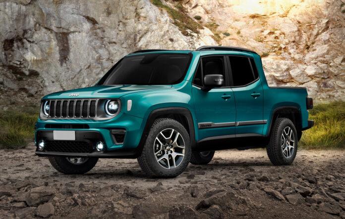 Nuova Jeep Renegade Pickup 2022, il Rendering che non vedremo