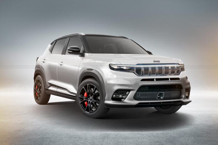 Jeep Jr 2022, il city SUV in Anteprima Rendering